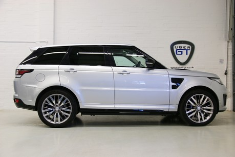 Land Rover Range Rover Sport V8 Supercharged SVR with a Huge Specification and FLRSH