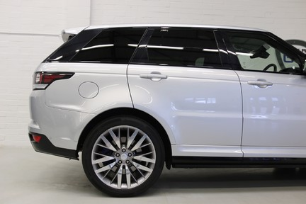 Land Rover Range Rover Sport V8 Supercharged SVR with a Huge Specification and FLRSH 13