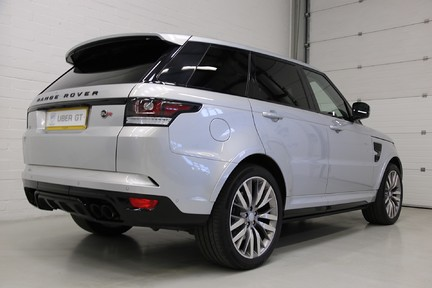 Land Rover Range Rover Sport V8 Supercharged SVR with a Huge Specification and FLRSH 5