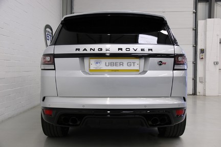 Land Rover Range Rover Sport V8 SVR with a Huge Specification and FLRSH 7