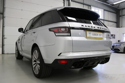 Land Rover Range Rover Sport V8 SVR with a Huge Specification and FLRSH 3