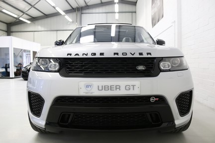 Land Rover Range Rover Sport V8 Supercharged SVR with a Huge Specification and FLRSH 9