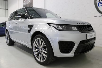 Land Rover Range Rover Sport V8 Supercharged SVR with a Huge Specification and FLRSH 2