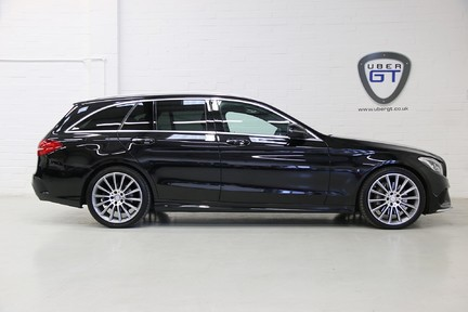 "Mercedes-Benz C Class C300 H AMG Line Premium with 19"" Alloys and Panoramic Roof 1"
