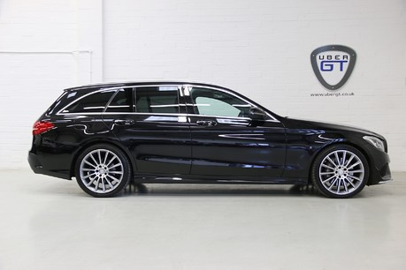"Mercedes-Benz C Class C300 H AMG Line Premium with 19"" Alloys and Panoramic Roof"