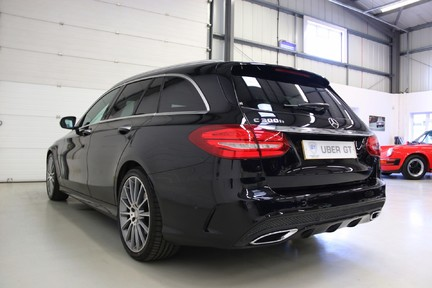 "Mercedes-Benz C Class C300 H AMG Line Premium with 19"" Alloys and Panoramic Roof 3"