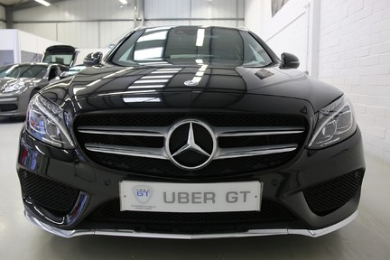 "Mercedes-Benz C Class C300 H AMG Line Premium with 19"" Alloys and Panoramic Roof 18"