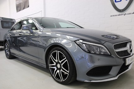 Mercedes-Benz CLS CLS400 AMG Line, One Owner with FMBSH 2