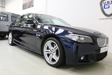 BMW 5 Series 535i ActiveHybrid M Sport with a High Specification and FSH 2