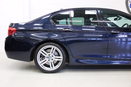 BMW 5 Series 535i ActiveHybrid M Sport with a High Specification and FSH 10