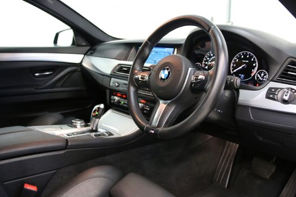 BMW 5 Series 535i ActiveHybrid M Sport with a High Specification and FSH 6