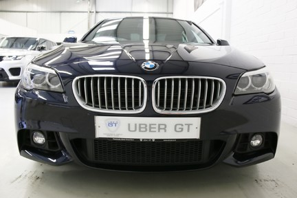 BMW 5 Series 535i ActiveHybrid M Sport with a High Specification and FSH 9