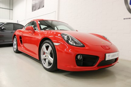 "Porsche Cayman S Manual with 19"" Alloys, Navigation and FPSH 2"