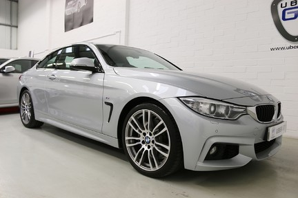BMW 4 Series 435i M Sport with Very Low Mileage and Only One Owner 2