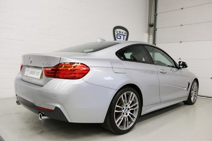 BMW 4 Series 435i M Sport with Very Low Mileage and Only One Owner 5