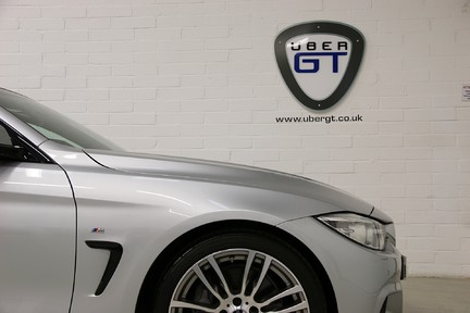 BMW 4 Series 435i M Sport with Very Low Mileage and Only One Owner 23