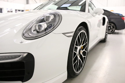 Porsche 911 Turbo S PDK with a Huge Specification and FPSH 21