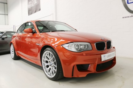BMW 1 Series 1M Coupe with FBMWSH 2