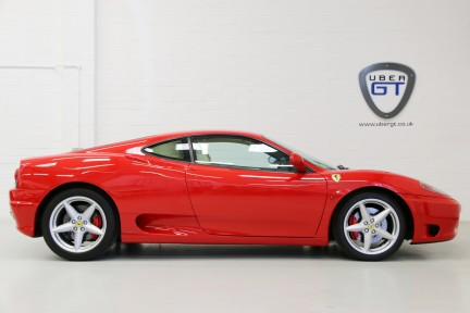 Ferrari 360M F1 Coupe - Collector Quality, One HRH Owner and Ferrari Service History 1