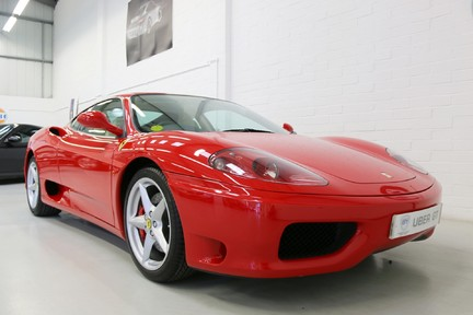 Ferrari 360M F1 Coupe - Collector Quality, One HRH Owner and Ferrari Service History 2