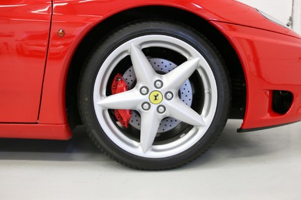 Ferrari 360M F1 Coupe - Collector Quality, One HRH Owner and Ferrari Service History 12