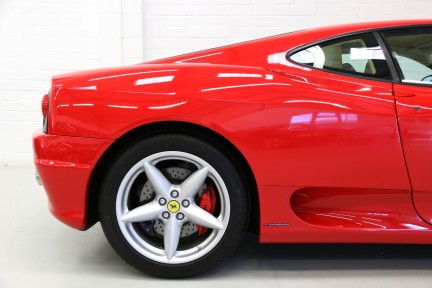 Ferrari 360M F1 Coupe - Collector Quality, One HRH Owner and Ferrari Service History 14