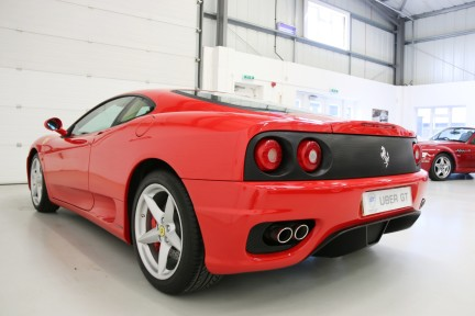 Ferrari 360M F1 Coupe - Collector Quality, One HRH Owner and Ferrari Service History 3