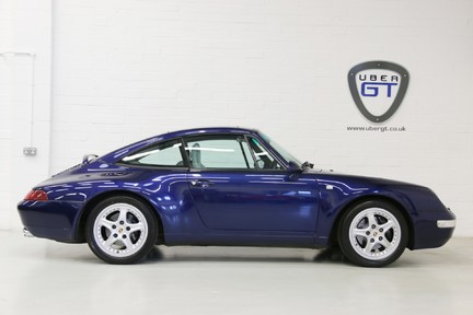 Porsche 911 993 Targa Manual in Wonderful Condition with a Terrific History 1