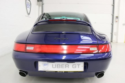 Porsche 911 993 Targa Manual in Wonderful Condition with a Terrific History 7