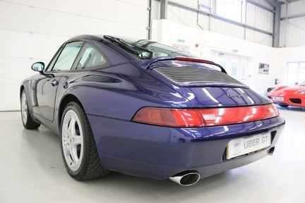 Porsche 911 993 Targa Manual in Wonderful Condition with a Terrific History 3