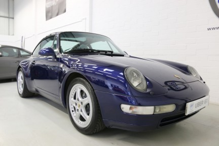 Porsche 911 993 Targa Manual in Wonderful Condition with a Terrific History 2
