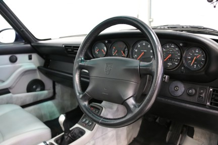 Porsche 911 993 Targa Manual in Wonderful Condition with a Terrific History 6