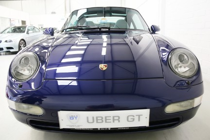 Porsche 911 993 Targa Manual in Wonderful Condition with a Terrific History 9