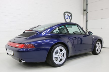 Porsche 911 993 Targa Manual in Wonderful Condition with a Terrific History 5