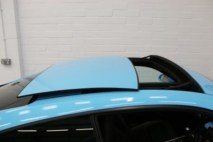 Porsche 911 Carrera S with Brookes Exhaust and Riviera Blue Wrap 13