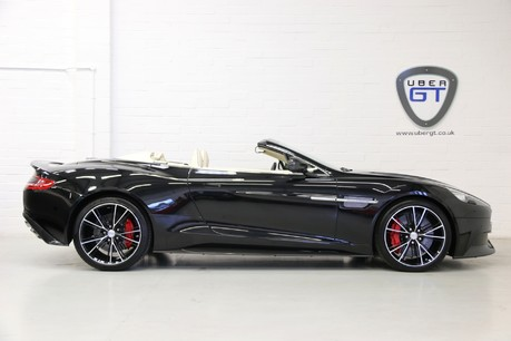 Aston Martin Vanquish V12 Volante with Low Mileage and FAMSH