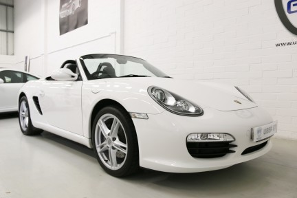 Porsche Boxster 24V Manual with Low Mileage and FSH 2