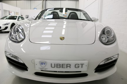 Porsche Boxster 24V Manual with Low Mileage and FSH 9