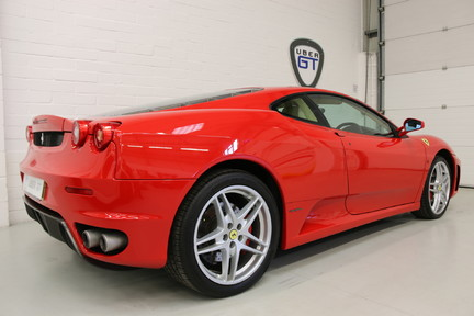 Ferrari F430 Manual Low Mileage Coupe with Full Ferrari Service History 5