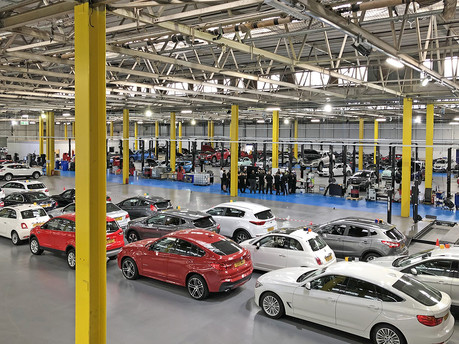 Hundreds of jobs created at car dealership's new preparation centre
