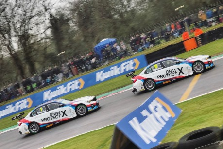 The BMW 3 Series Returns to BTCC Action at Brands Hatch