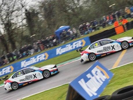 The BMW 3 Series Returns to BTCC Action at Brands Hatch