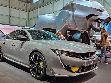 Discover The New Peugeot 508 High-Performance Hybrid Concept