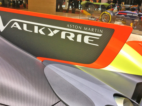 Aston Martin Valkyrie Makes Public Debut
