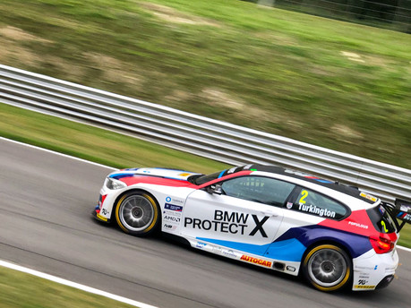 Colin Turkington takes the British Touring Car Championship title