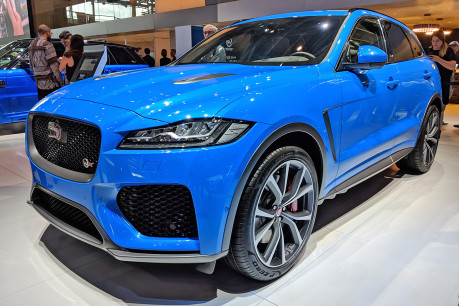 Meet the meaner, more powerful F-Pace. The F-Pace SVR