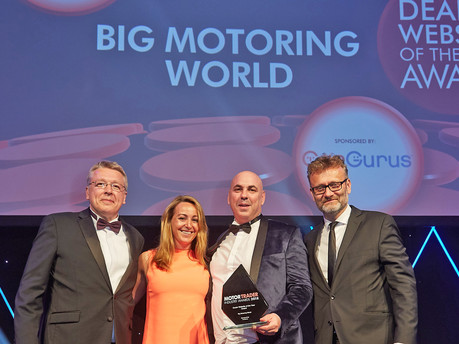 Double success for Big Motoring World at MotorTrader Awards