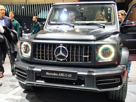 Geneva Motor Show 2018 reveals the all new Mercedes-AMG G63