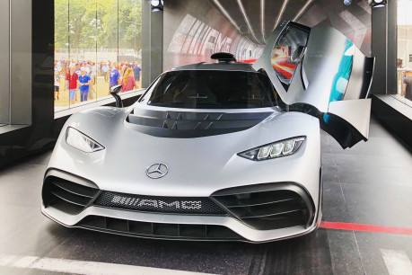 F1 for the road? Mercedes Benz AMG Project One takes the hypercar to the next level