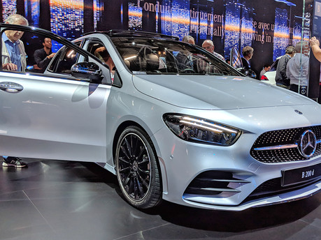 Discover The All New Mercedes Benz B-Class